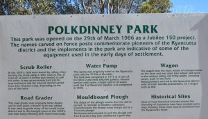 Polkdinney Free camp at Kyancutta