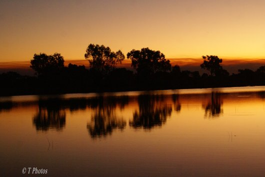Beautiful sunsets at  Robe River