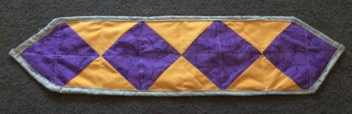 First table runner